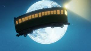 空飛ぶ矢二郎電車